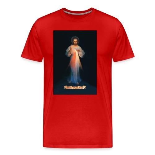 Divine Mercy - Men's Premium T-Shirt