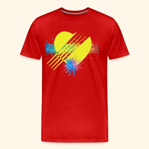 BOOM - YELLOW - Men's Premium T-Shirt