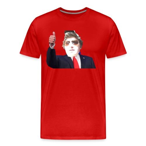 The American Mullet - Men's Premium T-Shirt