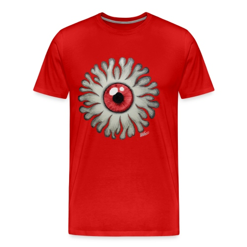 Fire Eye Red - Men's Premium T-Shirt