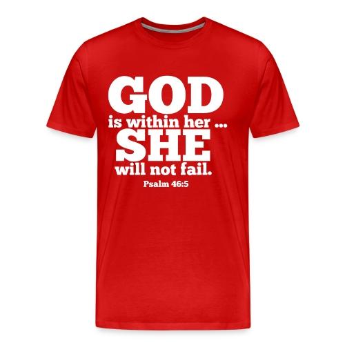 You will not FAIL! - Men's Premium T-Shirt