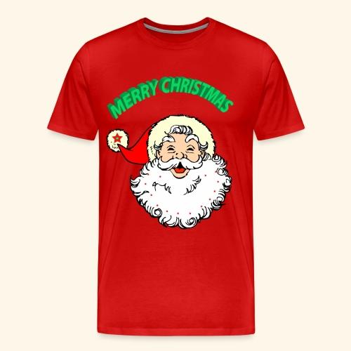 merry christmas santa claus - Men's Premium T-Shirt