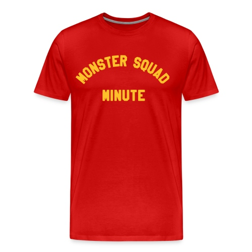 Monster Squad Minute Logo, Sean-Style - Men's Premium T-Shirt