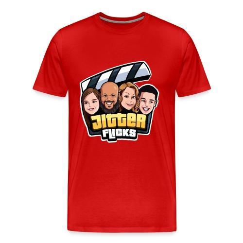 Jitter Flicks LOGO - Men's Premium T-Shirt