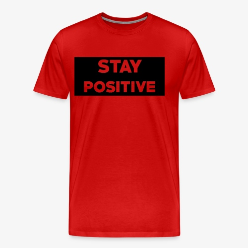 Stay Positive (Black Box) - Men's Premium T-Shirt