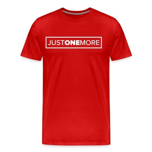 Just one more - Men's Premium T-Shirt