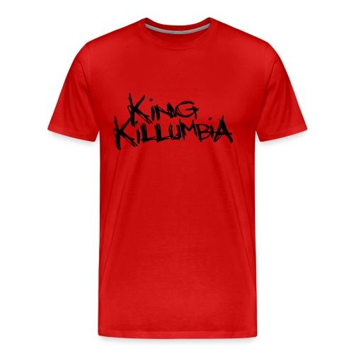 King Killumbia Black Logo - Men's Premium T-Shirt