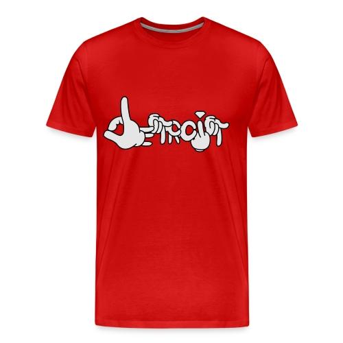 Detroit Living - Men's Premium T-Shirt