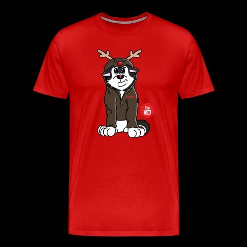 TonkaReindeerYouTube - Men's Premium T-Shirt