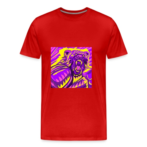 PurpleBoxinBear - Men's Premium T-Shirt