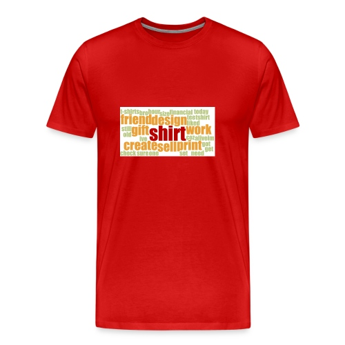 HotjarHomepagePoll2015 - Men's Premium T-Shirt