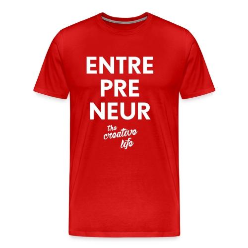 The Entrepreneur Tee - Men's Premium T-Shirt