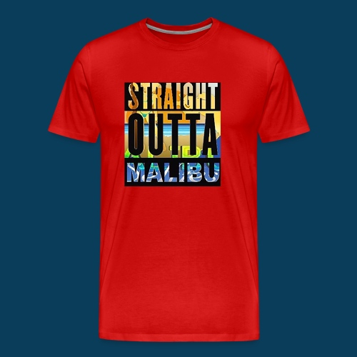 Straight Outta Malibu - Men's Premium T-Shirt