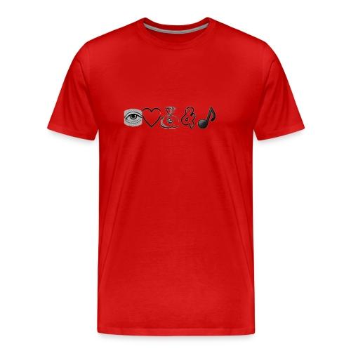 Money and Music - Men's Premium T-Shirt