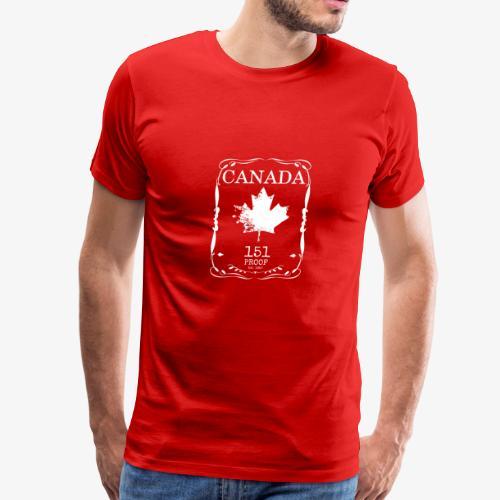 Canada 151 Proof - Men's Premium T-Shirt