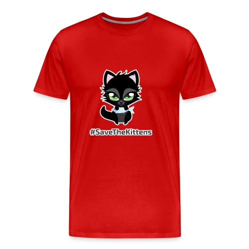 #SaveTheKittens - Men's Premium T-Shirt