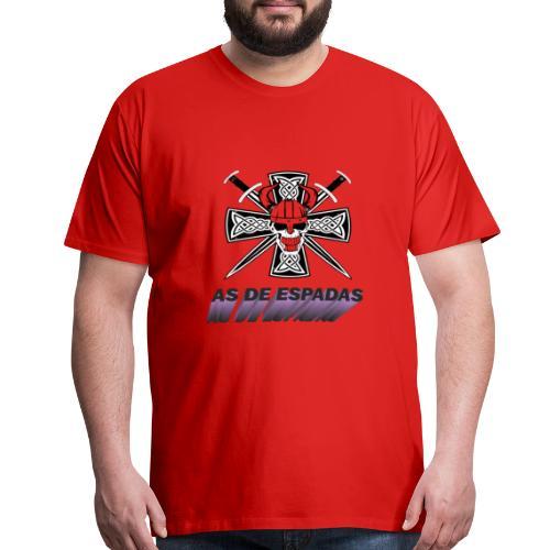 AS DE ESPADAS - Men's Premium T-Shirt