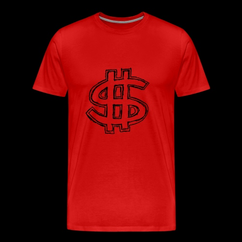 dollar sign drawing 4 - Men's Premium T-Shirt