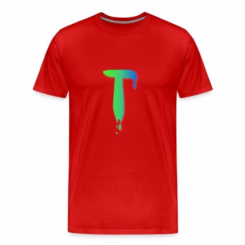 Colored Tlicker Logo - Men's Premium T-Shirt