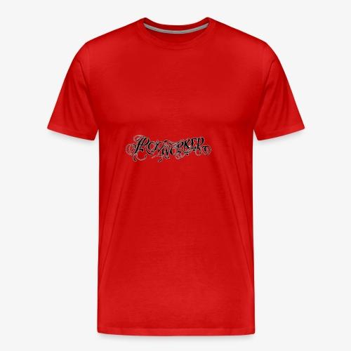Ironworker Tattoo Style - Men's Premium T-Shirt
