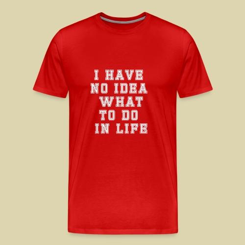 No Idea - Men's Premium T-Shirt