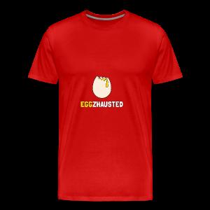 EGGZHAUSTED - Men's Premium T-Shirt