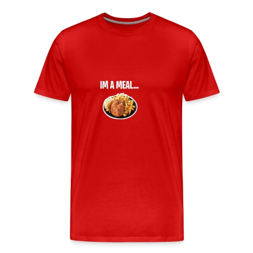 im a meal - Men's Premium T-Shirt