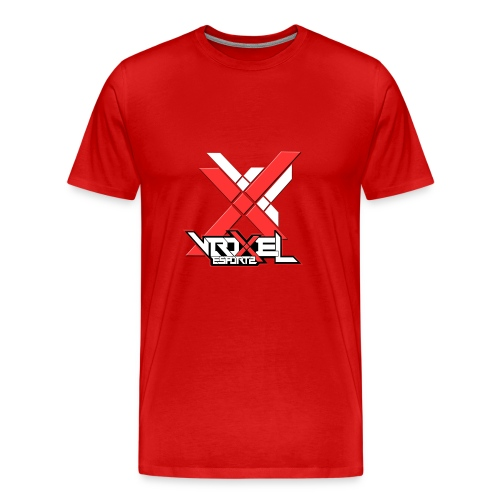 VXL Red Collection - Men's Premium T-Shirt