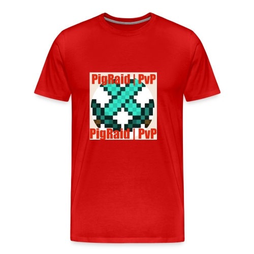 PigRaid Custom Logo - Men's Premium T-Shirt