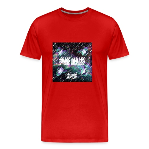 Space Whales Album Cover - Men's Premium T-Shirt