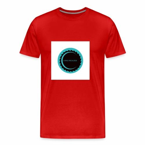 LIVING RECKLESS BLUE MOON EDITION - Men's Premium T-Shirt