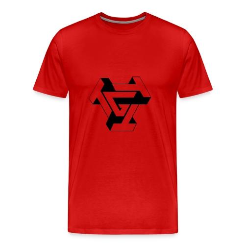 TTTG LOGO in black - Men's Premium T-Shirt