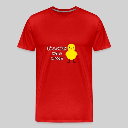 the cute chiken - Men's Premium T-Shirt