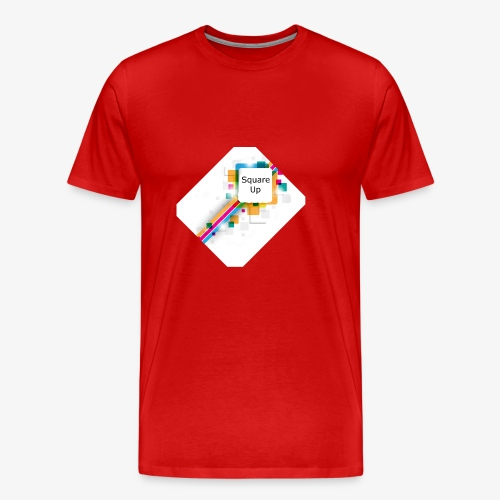 Square Up - Men's Premium T-Shirt