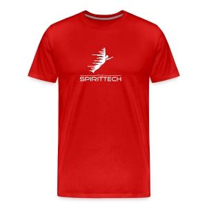 The SpiritTech Logo White PNG - Men's Premium T-Shirt