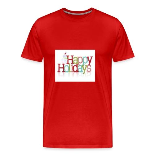 Happy Holidays - Men's Premium T-Shirt