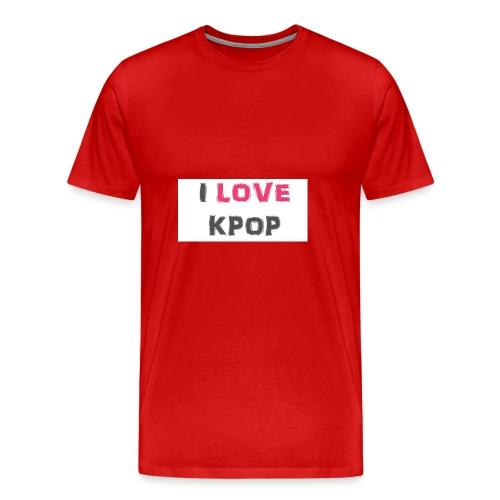 love kpop - Men's Premium T-Shirt