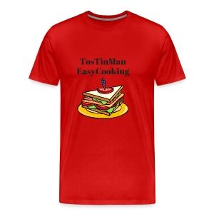TosTinMan Sandwich - Men's Premium T-Shirt