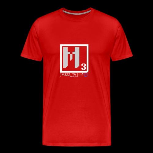 M3ZZ TV SOCIAL NETWORKS LIGHT - Men's Premium T-Shirt