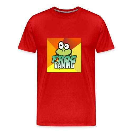 Frog Gaming Logo - Men's Premium T-Shirt