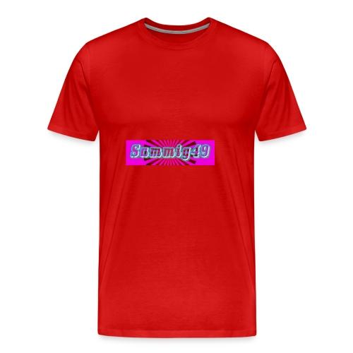 sammig49 glow - Men's Premium T-Shirt