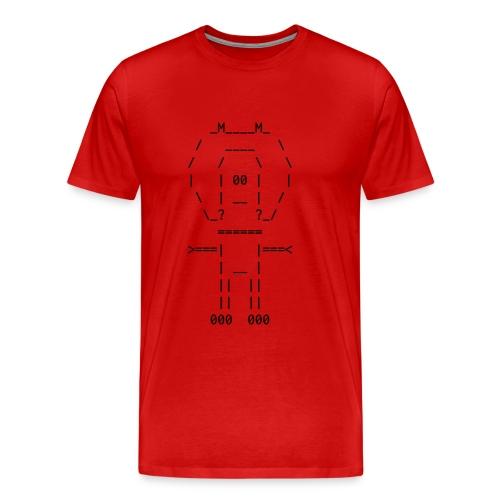 ASCII-naut - Men's Premium T-Shirt