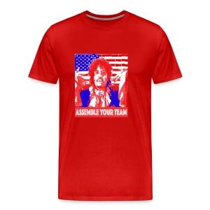 Assemble your Team Funny Olympics Shirt - Men's Premium T-Shirt