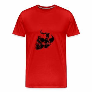 devil skull - Men's Premium T-Shirt