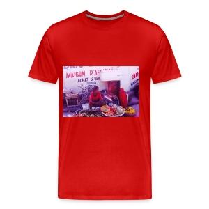Haitian market - Men's Premium T-Shirt
