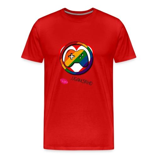 JJGAM3RHD Premium Valentines - Men's Premium T-Shirt