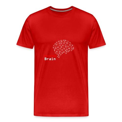 Connected Brain - Men's Premium T-Shirt