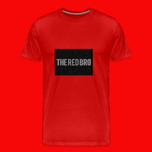 The Red Bro Merchandise - Men's Premium T-Shirt