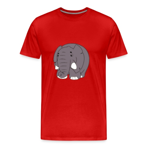 Sammy the Elephant - Men's Premium T-Shirt