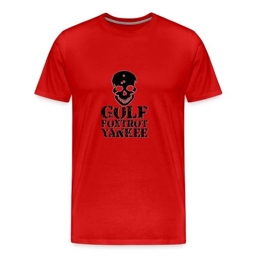 Golf Foxtrot Yankee - Men's Premium T-Shirt